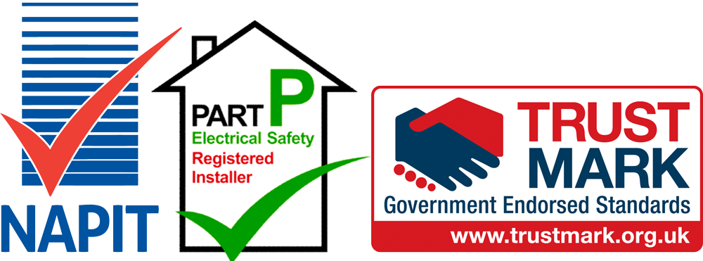 NAPIT, TRUST MARK, PART P APPROVED CONTRACTORS